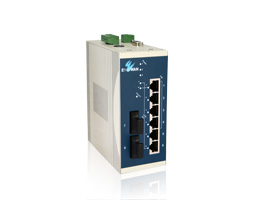 Etherwan EX36100 Unmanaged PoE+ Ethernet switch
